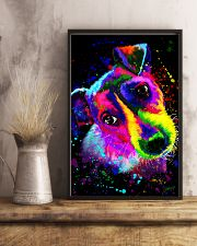 Jack Russell Water Color Art Splash ZX78 11x17 Poster lifestyle-poster-3