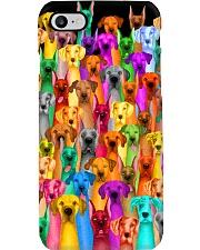 Great Dane Multi-dog Colorful Art Phone Case thumbnail
