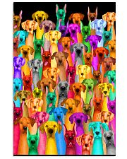 Great Dane Multi-dog Colorful Art 24x36 Poster front