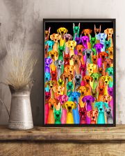 Great Dane Multi-dog Colorful Art 24x36 Poster lifestyle-poster-3