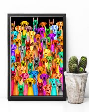 Great Dane Multi-dog Colorful Art 24x36 Poster lifestyle-poster-8