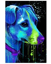 Jack Russell Water Color Art Flow AS12 24x36 Poster front