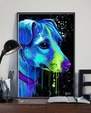 Jack Russell Water Color Art Flow AS12 24x36 Poster lifestyle-poster-2