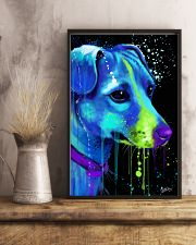 Jack Russell Water Color Art Flow AS12 24x36 Poster lifestyle-poster-3