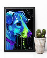 Jack Russell Water Color Art Flow AS12 24x36 Poster lifestyle-poster-8