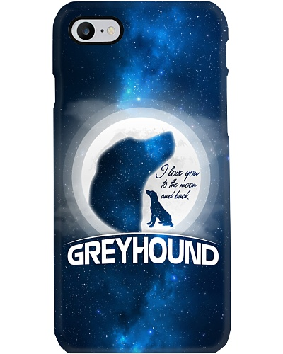 Greyhound I love You To The Moon And Back