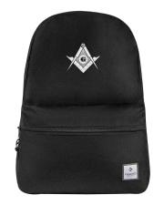 Masonic backpack Backpack front