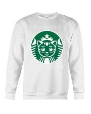 I Need My Coffee - Cat Starbucks Crewneck Sweatshirt thumbnail