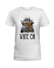Write On Ladies T-Shirt thumbnail