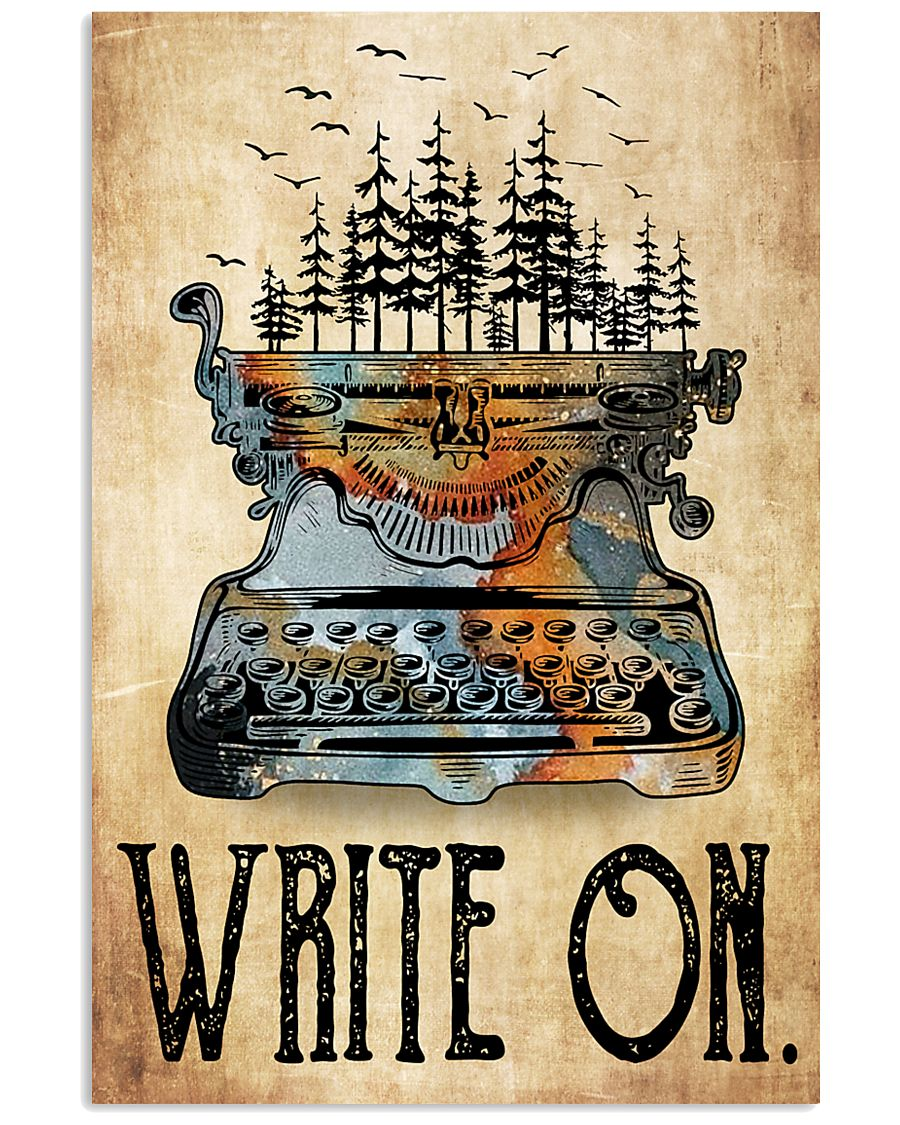 Write On 16x24 Poster