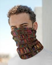Vintage Book Neck Gaiter aos-neck-gaiter-lifestyle-10