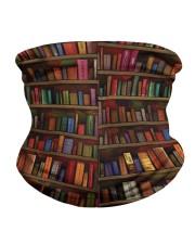 Vintage Book Neck Gaiter back