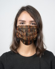 Book Lover  2 Layer Face Mask - Single aos-face-mask-2-layers-lifestyle-front-16