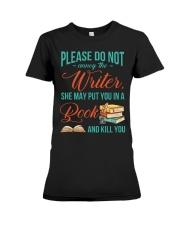 Do not annoy the Writer Premium Fit Ladies Tee thumbnail
