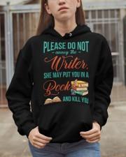 Do not annoy the Writer Hooded Sweatshirt apparel-hooded-sweatshirt-lifestyle-07