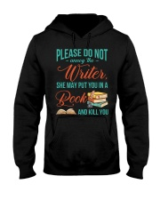 Do not annoy the Writer Hooded Sweatshirt front