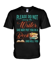 Do not annoy the Writer V-Neck T-Shirt thumbnail
