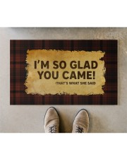 """That's What She Said Doormat 28"""" x 17"""" aos-doormat-28-x-17-lifestyle-front-04"""