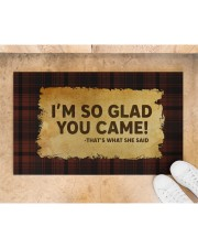 """That's What She Said Doormat 28"""" x 17"""" aos-doormat-28-x-17-lifestyle-front-05"""