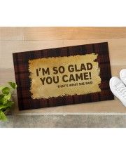 """That's What She Said Doormat 28"""" x 17"""" aos-doormat-28-x-17-lifestyle-front-11"""