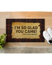 """That's What She Said Doormat 28"""" x 17"""" aos-doormat-28-x-17-lifestyle-front-12"""