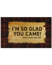 """That's What She Said Doormat 28"""" x 17"""" front"""