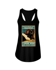 I read books and know things Ladies Flowy Tank thumbnail