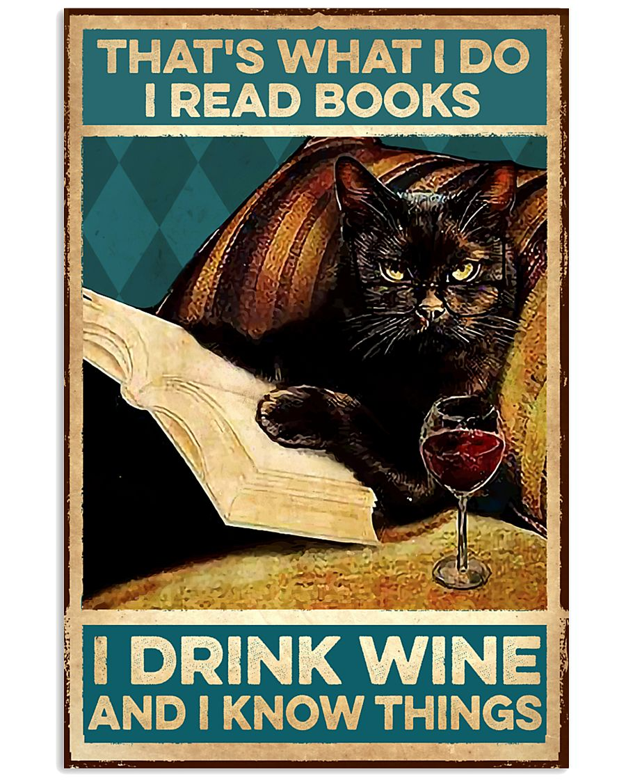 I read books and know things 11x17 Poster