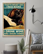 I read books and know things 11x17 Poster lifestyle-poster-1