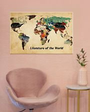 Literature of the world 36x24 Poster poster-landscape-36x24-lifestyle-19