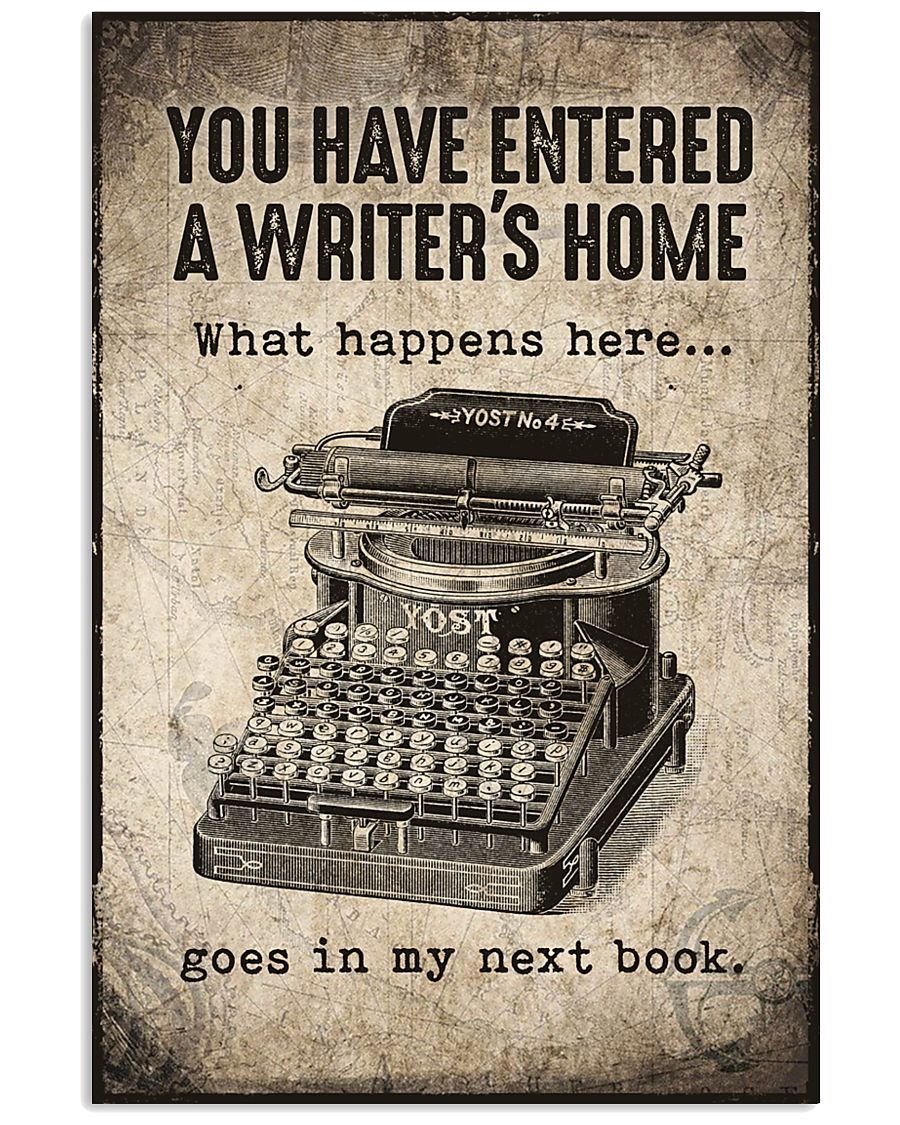 Writer's Home 11x17 Poster
