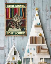 Write Drunk Edit Sober 11x17 Poster lifestyle-holiday-poster-2