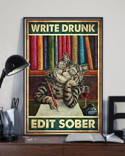 Write Drunk Edit Sober 11x17 Poster lifestyle-poster-2