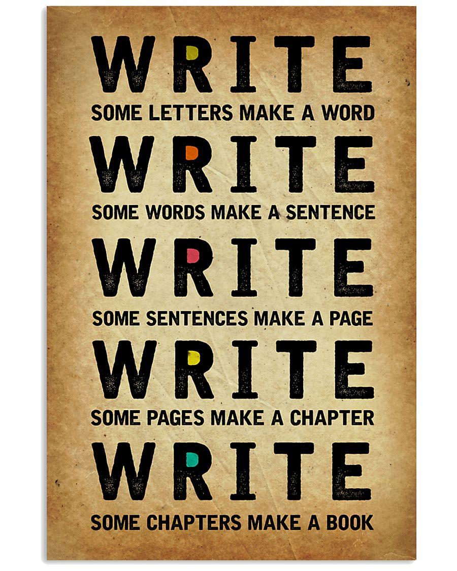 Write 11x17 Poster