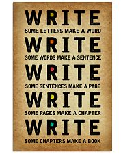Write 11x17 Poster front
