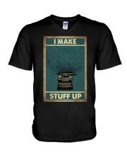 I make stuff up V-Neck T-Shirt thumbnail