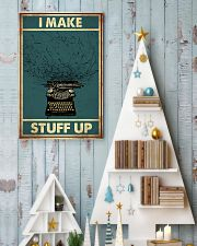 I make stuff up 11x17 Poster lifestyle-holiday-poster-2
