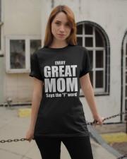 Great Mom Classic T-Shirt apparel-classic-tshirt-lifestyle-19