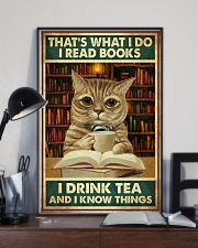I read books and know things 11x17 Poster lifestyle-poster-2