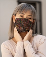 Vintage Book Cloth face mask aos-face-mask-lifestyle-17
