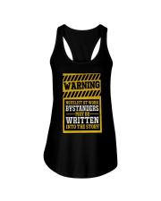 Novelist at work Ladies Flowy Tank thumbnail