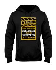 Novelist at work Hooded Sweatshirt thumbnail