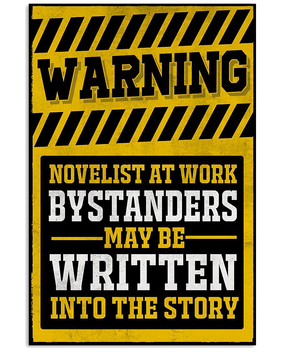 Novelist at work 11x17 Poster