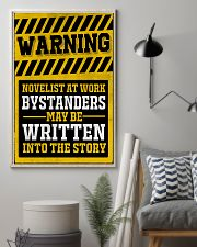Novelist at work 11x17 Poster lifestyle-poster-1