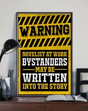 Novelist at work 11x17 Poster lifestyle-poster-2