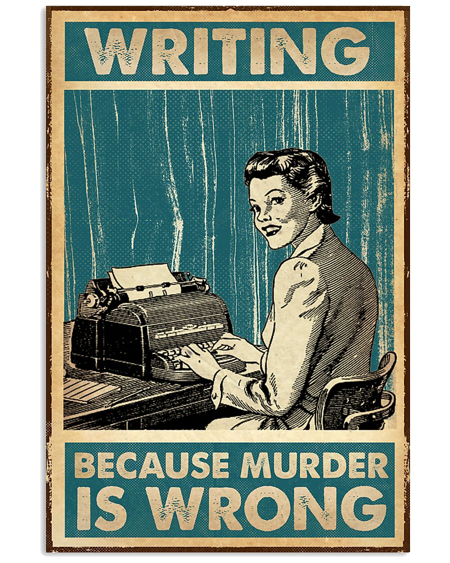 Writing Because murder is Wrong 11x17 Poster