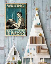 Writing Because murder is Wrong 11x17 Poster lifestyle-holiday-poster-2
