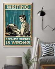 Writing Because murder is Wrong 11x17 Poster lifestyle-poster-1