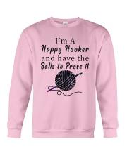 Im A happy hooker  Crewneck Sweatshirt thumbnail