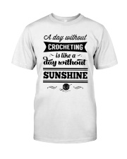 A DAY WITHOUT CROCHETING  Classic T-Shirt thumbnail